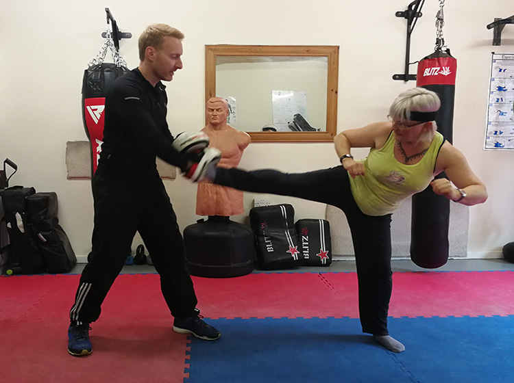 Kickboxing & Self-defence